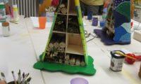 Insektenhotel beim Kinderferienprogramm