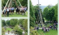 Auf geht´s zum Maibaumaufstellen in Wernhardsberg