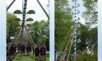 Maibaumfest bei Traumwetter