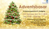 Adventsbasar in Wernhardsberg